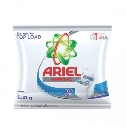 Ariel Detergent Powder Matic Top Load 500G